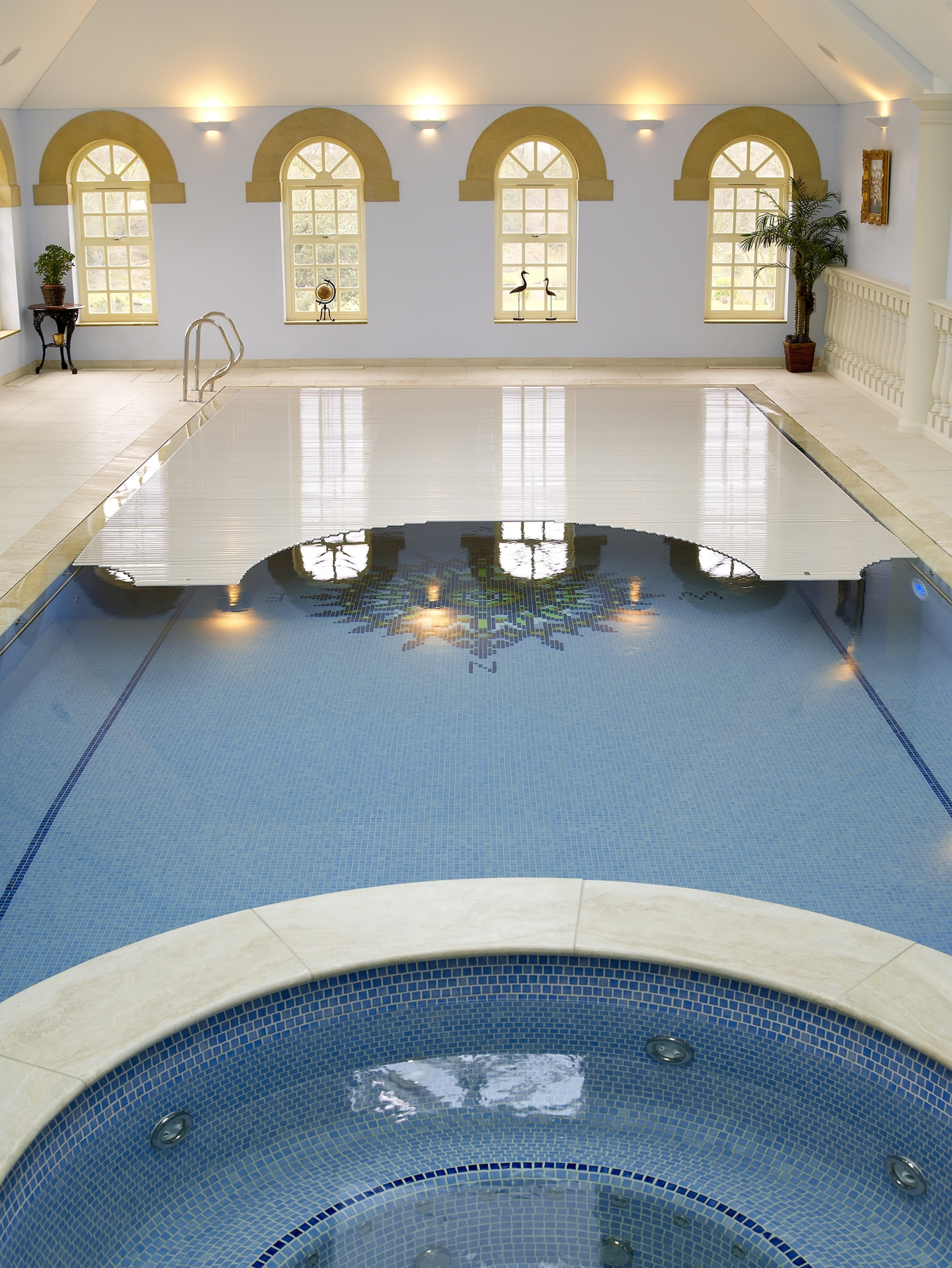 Bespoke swimming pool covers fully-tailored in the UK from design to fabrication...